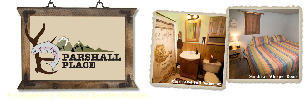 Parshall Place - A Completely Relaxing Retreat